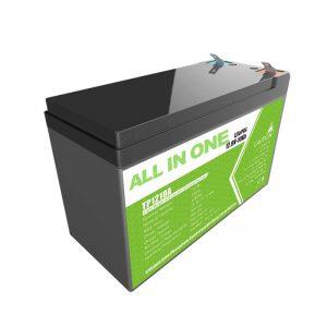 Anstataŭigu baterion de plumacida ĝelo 12V 10Ah Litio-jona baterio por malgranda energio-butiko