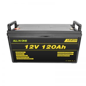 Lifepo4 BMS Litio-Baterio 12v 120ah Lifepo4 Litio-Ion Baterio 12v