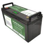 Baterio LiFePO4 de alta kapablo 12V150Ah kun inteligenta BMS por Elektra planklavilo