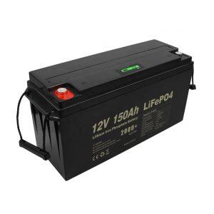 Profunda Ciklo Reŝargebla Lifepo4-Baterio 12v 150Ah 200Ah 250Ah 300Ah