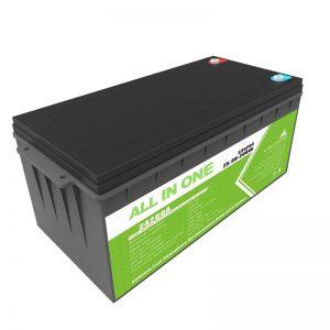 Longa Vivo Reŝargebla Rezerva Potenco 12.8v 200ah LiFePO4-Baterio Por Golfa Ĉaro