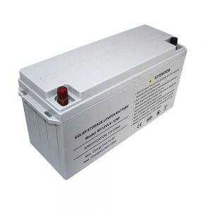 Energia Stokado LiFePO4-Baterio 12V 80Ah Sunaj Baterioj por Elektroprovizoj