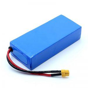 Reŝargebla altkvalita 12v 12Ah Li-jona Baterio 3S6P Litiojonaj Baterioj