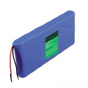 18650 14.4V 6000mAh Lasera partiklo-nombrilo litia baterio