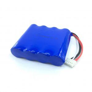 Reŝargebla 14,8V 2200 mAh 18650 Litio-Bateria Litopakaĵo por Inteligenta Aspirilo