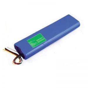 11.1V 9000mAh 18650 litia baterio por Inteligenta plifortiga komputilo