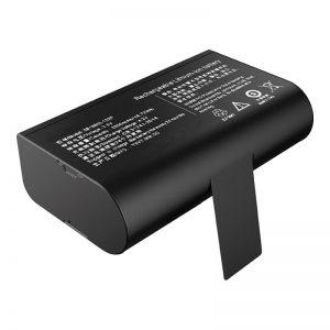 3.6V 5200mAh 18650 Litia-Iona Baterio LG-Baterio por Tenila POS-Maŝino
