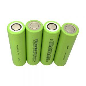 Originala reŝargebla litia jona baterio 18650 3.7V 2900mAh-ĉelaj Li-ion 18650-baterioj