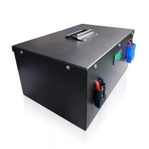 Personigita lifepo4 24V 100Ah litia baterio