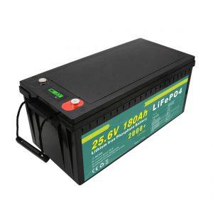 Reŝargebla Baterio 24v180ah (LiFePO4) Por Suna Strata Lumo