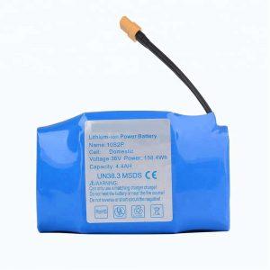 Plej vendata hoverboard litia baterio de 36v 4400mah 10s2p