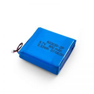 Propra Ŝargebla 3.7V 450 530 550 700 750 800 900Mah Li-Po Lipo-Baterio