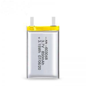 Kuirila Baterio LiPO 603048 3.7V 850mAh / 3.7V 1700mAH / 7.4V 850mAH