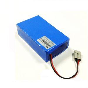 Litio-jona baterio pakas 60v 12ah elektran skoteron