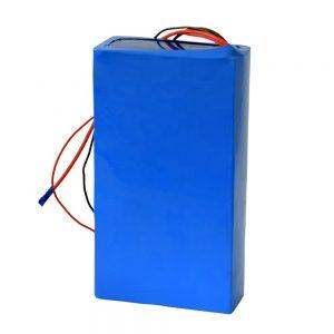 Reŝargebla litia baterio 60v 12ah por elektra skotero