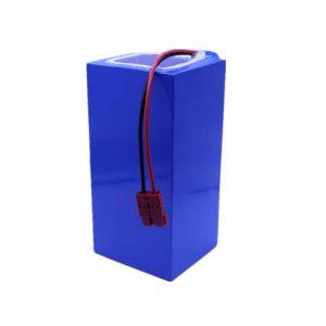 Baterio de litia jono 60v 40ah litia baterio 18650-2500mah 16S16P por elektra skotero / e-biciklo