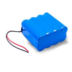 Li-jona bateria pako 2S4P 7.4V 12.0Ah litiaj jonaj baterioj akku por fiŝeja suna akvopumpilo