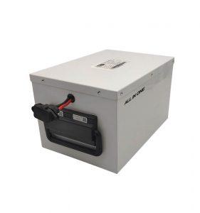 ĈIU EN UN Longa vivo LiFePO4-Baterio por hejma Energia Stokada Sistemo