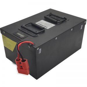 ĈIO EN UNU Alta kapablo 72V60Ah LiFePO4-Baterio kun inteligenta BMS por Elektraj veturiloj