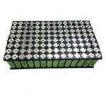 Nova reklamo reŝargebla 72V 30AH litia jona baterio por energio-stokada aŭto