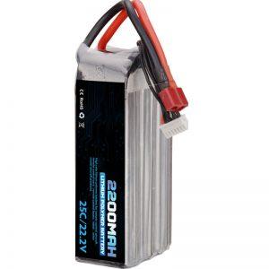 varma vendo reŝargebla litia polimera baterio 22000 mah 6s lipo
