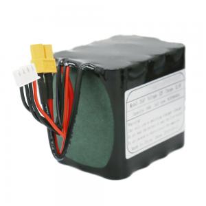 Reŝargeblaj 18650-bateriaj ĉeloj 3S4P-litia bateria pako 11.1V 10Ah por Suna Led-Lampo